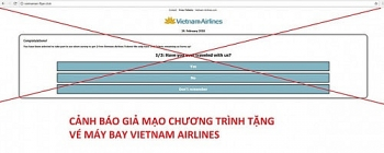 chuong trinh tang 2 ve may bay vietnam airlines la lua dao