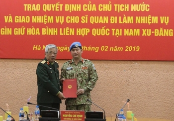 cong bo quyet dinh cua chu tich nuoc ve cong tac can bo