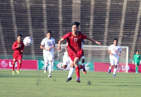 U22 Việt Nam lội ngược dòng giành chiến thắng 2-1 trước Philippines ở AFF U22 LG Cup 2019