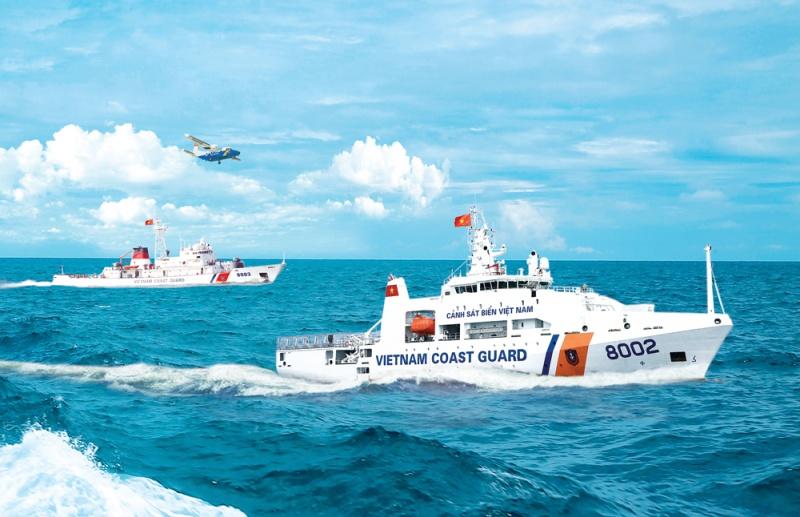 Trường hợp Cảnh sát biển Việt Nam dừng tàu thuyền để kiểm tra, kiểm soát