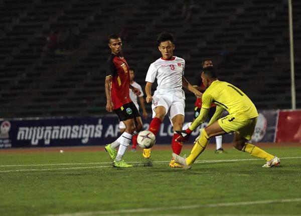 Đè bẹp Timor Leste với tỷ số 4-0, U22 Việt Nam sớm giành vé vào bán kết