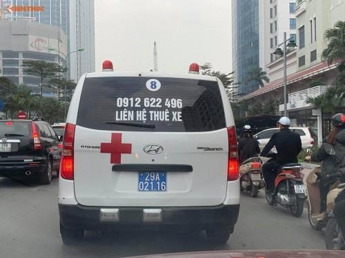 Vụ cho thuê xe cấp cứu biển xanh: Đại diện Bệnh viện Việt Đức lên tiếng