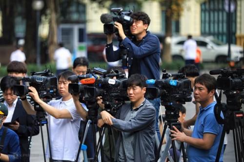 Gần 3000 phóng viên quốc tế đến Hà Nội đưa tin Hội nghị thượng đỉnh Mỹ - Triều