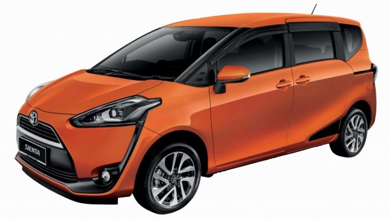 Toyota Sienta 2018 bảy chỗ trình làng với giá 553 triệu đồng
