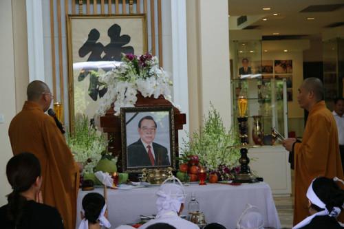 Lễ viếng nguyên Thủ tướng Phan Văn Khải được tổ chức từ 8 giờ ngày 20/3