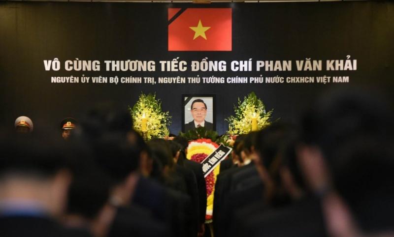 [Ảnh] Lãnh đạo Đảng, Nhà nước đến viếng cố Thủ tướng Phan Văn Khải