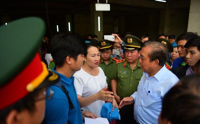 vu chay chung cu carina gan 500 cu dan ky don kien nghi khan den thu tuong chinh phu