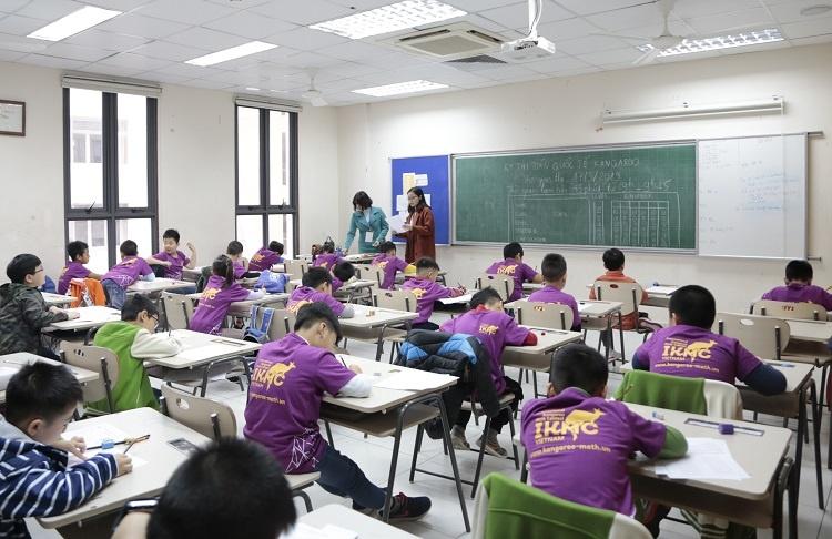 24.000 học sinh cả nước tham gia cuộc thi Toán lớn nhất thế giới