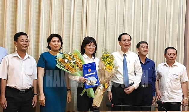 Nhân sự mới TPHCM, Đà Nẵng, Long An, Tuyên Quang