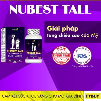 can trong voi thong tin quang cao thuc pham bao ve suc khoe nubest tall