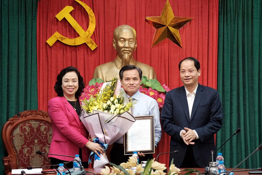 Nhân sự mới Hà Nội, TPHCM, Đà Nẵng, Long An, Tuyên Quang