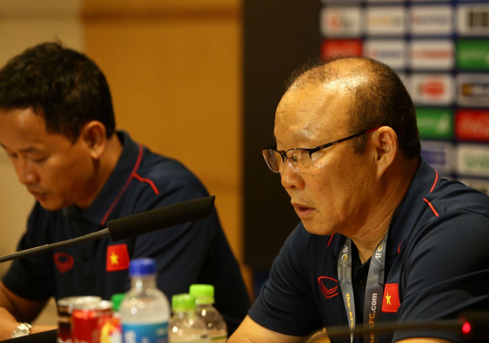"""HLV Park Hang-seo: """"U23 Việt Nam vẫn cần phải cố gắng hơn rất nhiều"""""""