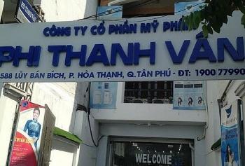 dinh chi luu hanh thu hoi tren toan quoc 2 lo my pham cua cong ty my pham phi thanh van