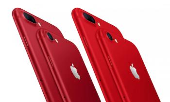 ro tin apple ra mat iphone 8 va 8 plus mau do ban ra tuan nay