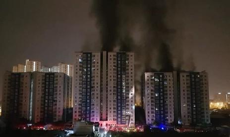 Khởi tố, bắt tạm giam chủ đầu tư dự án chung cư Carina Plaza sau vụ cháy làm 13 người chết