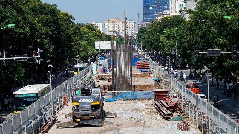 Đường sắt Nhổn - ga Hà Nội tiếp tục lùi tiến độ đến cuối năm 2022