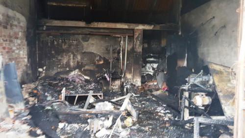 Hỏa hoạn thiêu rụi ngôi nhà, 3 mẹ con tử vong thương tâm ở Nam Định
