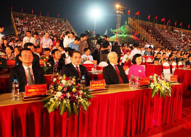 Tổng Bí thư dự lễ kỷ niệm 1.050 năm Nhà nước Đại Cồ Việt