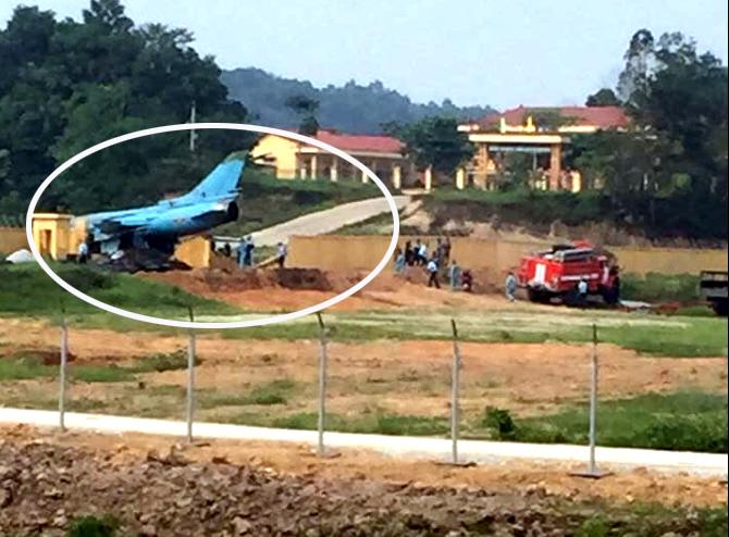 Thông tin chính thức vụ việc mất an toàn bay của máy bay Su-22M4