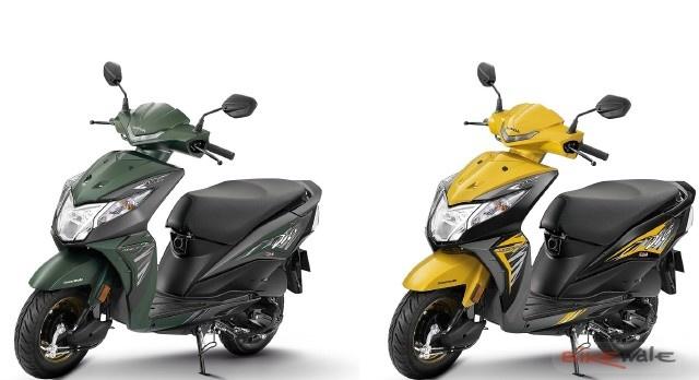 Honda tung ra thị trường Dio 2018 phiên bản mới, giá chỉ 18 triệu đồng