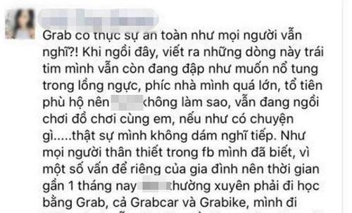 Tài xế Grab thừa nhận hành vi quấy rối tình dục bé gái 9 tuổi