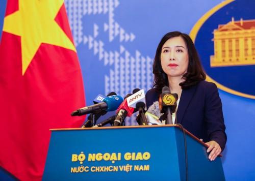 Yêu cầu Trung Quốc chấm dứt cho máy bay ném bom diễn tập trái phép tại quần đảo Hoàng Sa