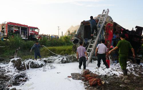 Khởi tố vụ án, khởi tố bị can trong vụ tai nạn đường sắt nghiêm trọng ở Thanh Hóa