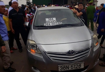 giang cap chuyen cong tac doi voi thuong uy cong an lai xe bien so gia va cham lam chet nguoi