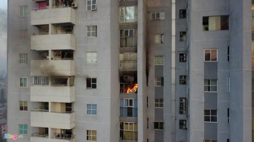 Xác định được nguyên nhân cháy chung cư Fodacon ở Hà Nội