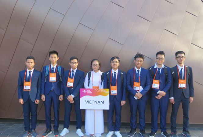 Đoàn Việt Nam nằm trong top 5 tại Olympic Vật lý châu Á