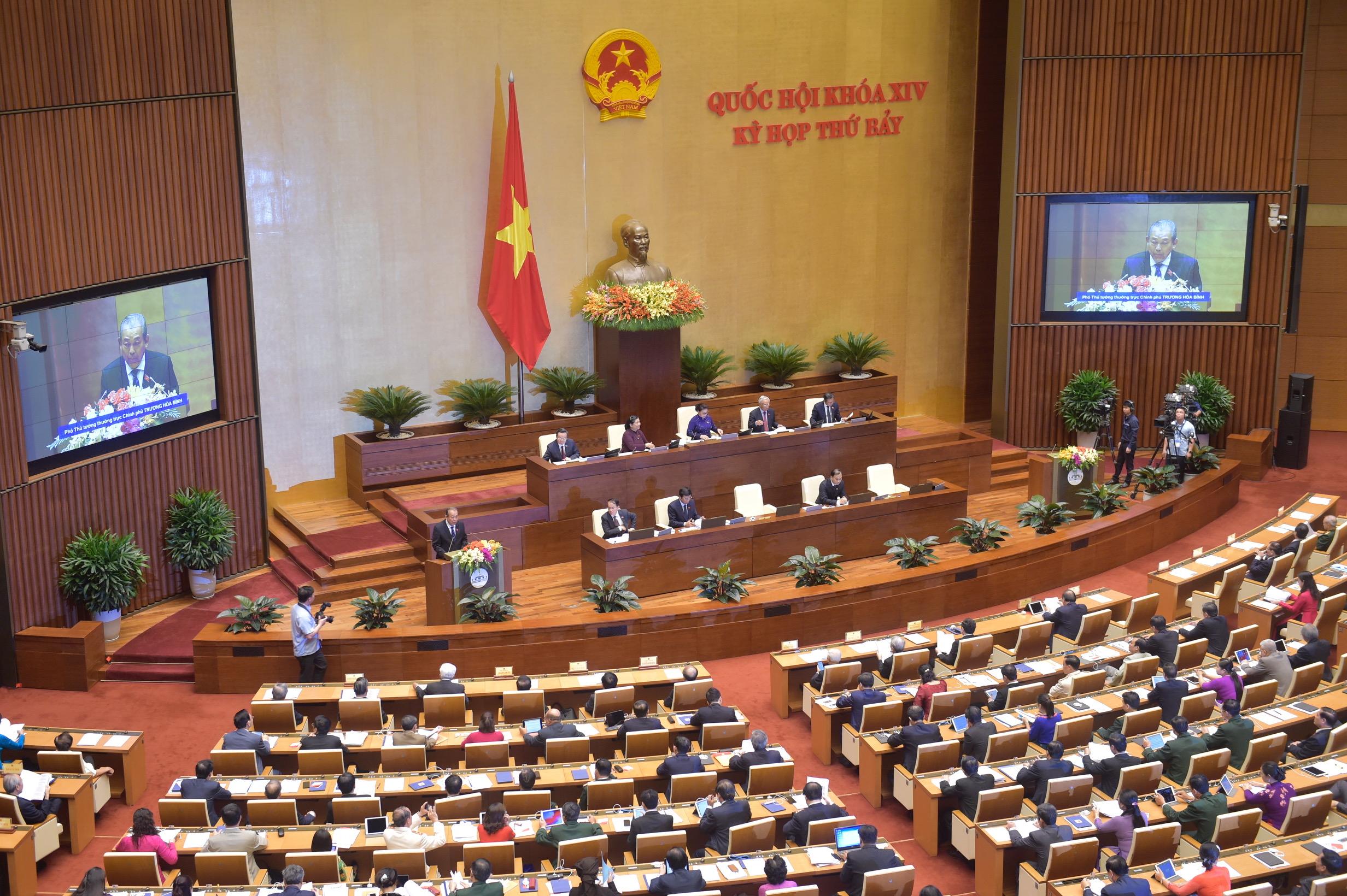 TRỰC TIẾP: Khai mạc kỳ họp thứ 7, Quốc hội khóa XIV