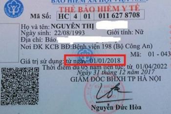 mau the bhyt moi tu nam 2018 khong con ghi thoi han su dung