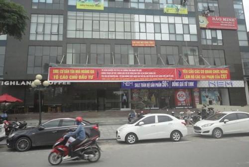 Chung cư SME Hoàng Gia bị 'xướng tên' vì vi phạm PCCC