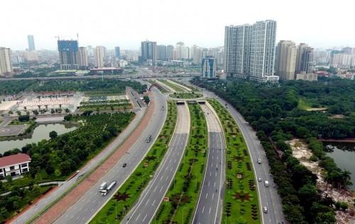 Hà Nội dự kiến sẽ thanh toán cho chủ đầu tư quỹ đất khoảng 39,8ha ở Nam Từ Liêm để lấy 2,85 km đường