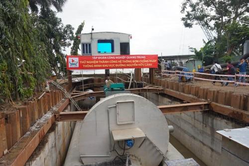 Nhà đầu tư gửi tờ trình đề xuất 'siêu máy bơm' chống ngập cho sân bay Tân Sơn Nhất