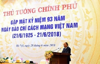 bai phat bieu cua thu tuong chinh phu tai buoi le ky niem 93 nam ngay bao chi cach mang viet nam