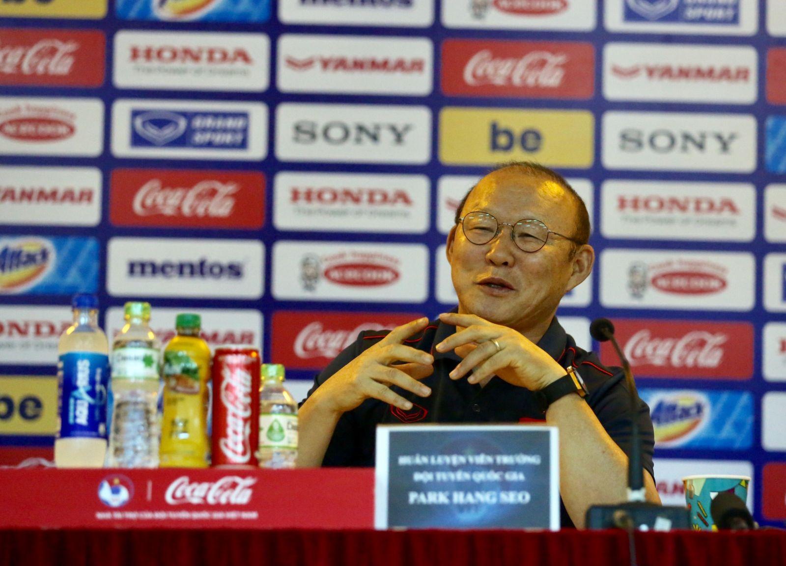 HLV Park Hang-seo nói về việc Đội tuyển Việt Nam dự King's Cup