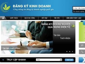 Miễn lệ phí đăng ký doanh nghiệp nếu đăng ký qua mạng điện tử