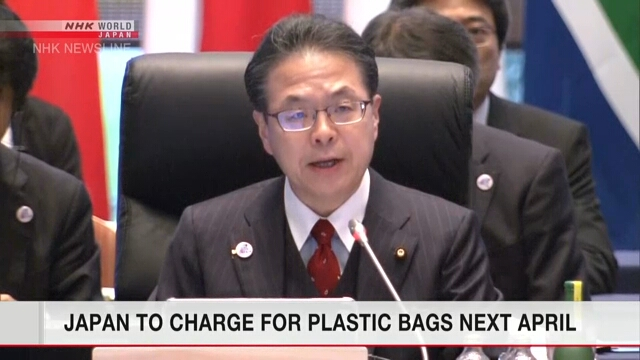 Nhật Bản cấm túi nhựa miễn phí từ năm tới