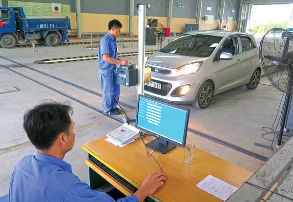 Đánh giá nghiệp vụ đăng kiểm viên xe cơ giới