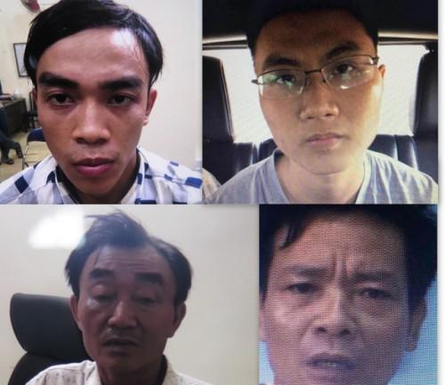 nhom khung bo gay ra vu no tai tru so cong an phuong o tphcm bi bat giu nhu the nao