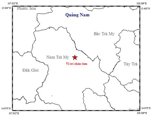 Quảng Nam: Liên tiếp xảy ra động đất ở huyện Nam Trà My