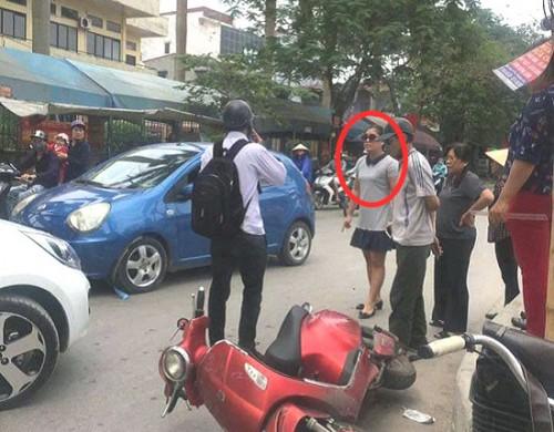Nữ tài xế nói 'con người không quan trọng' sau va chạm giao thông bị cho thôi chức Chánh Văn phòng Đảng ủy