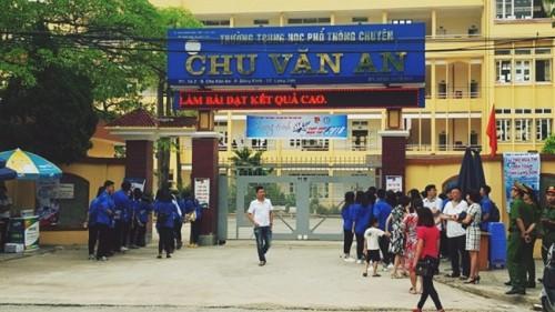 Sẽ công bố kết quả rà soát điểm thi bất thường ở Lạng Sơn trong hôm nay 21/7