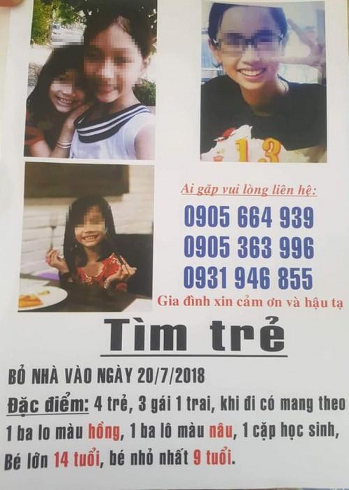 Sự thật về vụ 4 trẻ 'mất tích' ở Đà Nẵng: 4 cháu nhỏ rủ nhau ra Huế chơi, không báo với gia đình