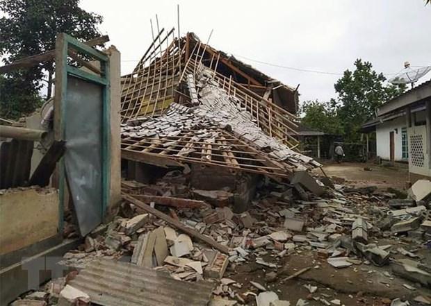 Động đất cường độ 7,3 độ ở Indonesia