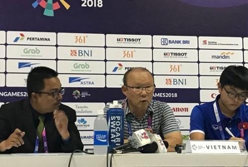 HLV Park Hang Seo nói gì sau chiến thắng 3-0 trước Olympic Pakistan?