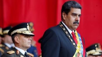 venezuela bat giu 2 si quan quan doi lien quan vu am sat tong thong nicolas maduro