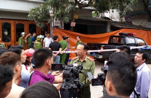Vụ án xả súng bắn chết hai vợ chồng giám đốc ở Điện Biên: Công an tiết lộ nguyên nhân ban đầu
