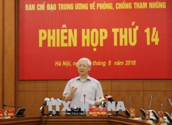 phien hop thu 14 ban chi dao trung uong ve phong chong tham nhung